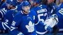 Tavares scores twice as Maple Leafs top Sabres