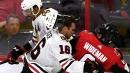 Blackhawks get five-straight goals to down Senators