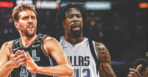 Mavs' DeAndre Jordan jokes that 'the black Dirk is finally here' in Dallas