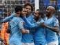 Result: Riyad Mahrez off mark as Manchester City thump Cardiff City
