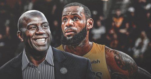 Lakers' Magic Johnson says LeBron James is in 'midseason form'