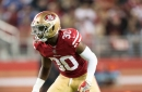 49ers promote DB Powell; release LB Garvin
