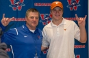 Texas quarterback Sam Ehlinger moves past his high school coach in UT's history books