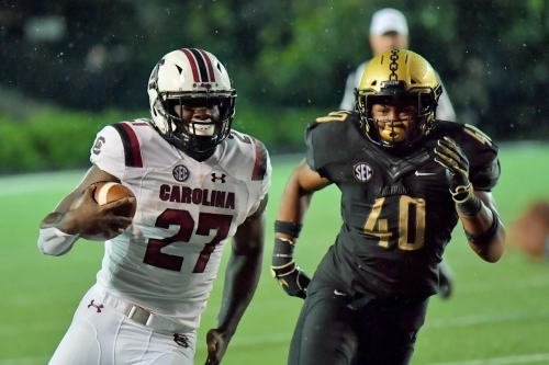 South Carolina routs Vandy, 37-14