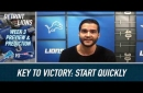 Lions have to start quickly if they want to upset Patriots