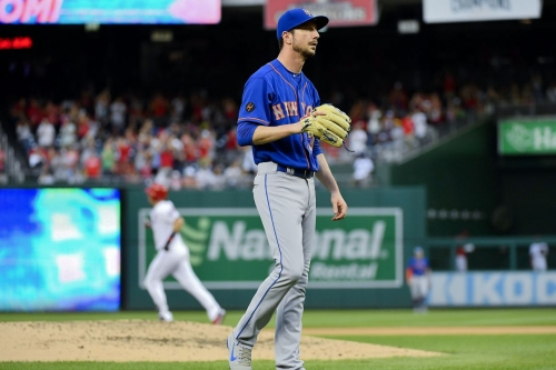 Mets muster only one hit in falling to defeat in Washington