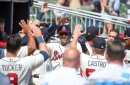 Adams, Sanchez lead the charge as Braves' bench prevails 2-1 to sweep Phils