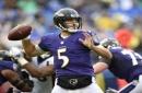 Joe Flacco shines as Ravens deal Broncos first loss, 27-14