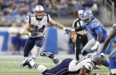 Patriots vs Lions: Rex Burkhead leaves game with apparent neck injury