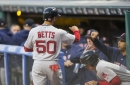 Red Sox 3, Indians 4: Mookie Betts and William Cuevas have big nights, but it's not enough