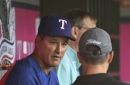66-90 - Rangers open final road trip of season with extra innings loss in Anaheim