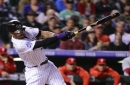 Five notes from Rockies' blowout of Phillies on Monday as Colorado gains ground in wild card chase