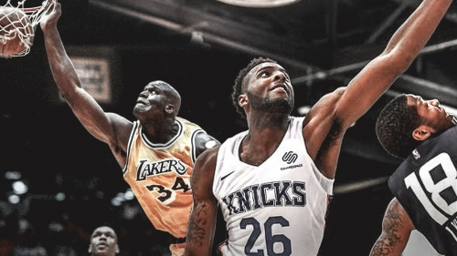 Trey Burke compares rookie Mitchell Robinson to a young Shaquille O'Neal