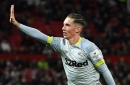 Manchester United fans hated Harry Wilson's celebration last night