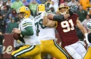 Every play by Ryan Kerrigan vs Green Bay
