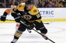 Anders Bjork returns for last-ditch B's roster push