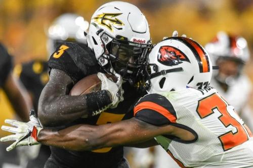 ASU Football: Benjamin's record night propels ASU to home route