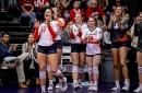 Illini Volleyball Splits Weekend; Falls to #3 Nebraska