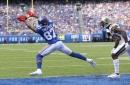 Giants vs. Saints halftime score: Giants down 12 - 7 at the half