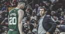 Brad Stevens jokes that part of him wanted Gordon Hayward to foul out early vs. Hornets