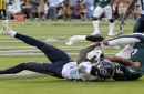 Titans edge Eagles 26-23 on TD pass late in OT