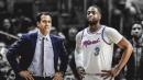 Heat coach Erik Spoelstra urges Dwyane Wade to finish his last season as a true maestro
