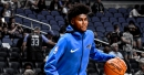 Jonathan Isaac leaves game vs. Sixers early with ankle sprain