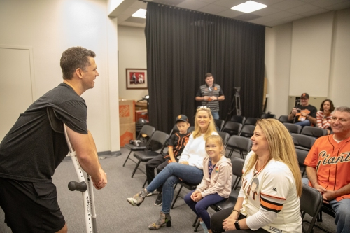Buster Posey wraps up another season of raising money, awareness to end pediatric cancer