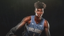 Jonathan Isaac is day-to-day with mild ankle sprain