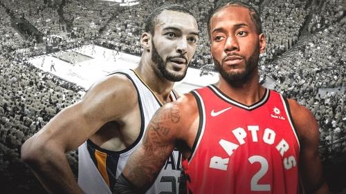 Raptors' Kawhi Leonard, Jazz' Rudy Gobert tie for best defensive player in annual GM survey