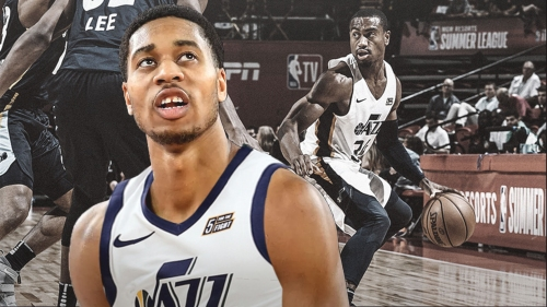 Utah signs Isaiah Cousins, waives Trey Lewis