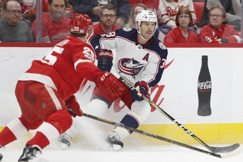 Game #1 Preview: Blue Jackets at Red Wings