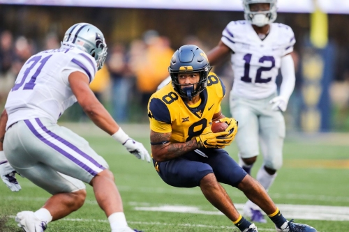 Has Marcus Simms become West Virginia's most productive receiver?