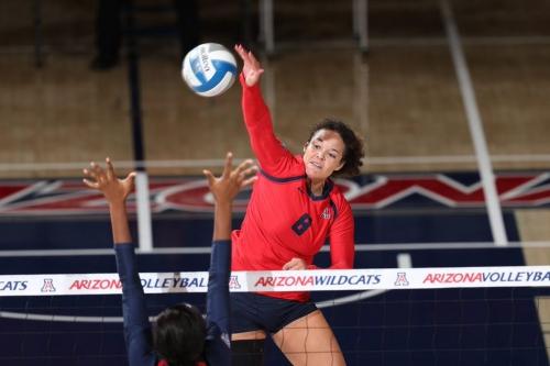 Arizona volleyball swept by No. 15 Washington