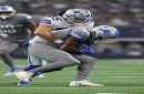 Detroit Lions waive TE Hakeem Valles with injuries mounting in secondary