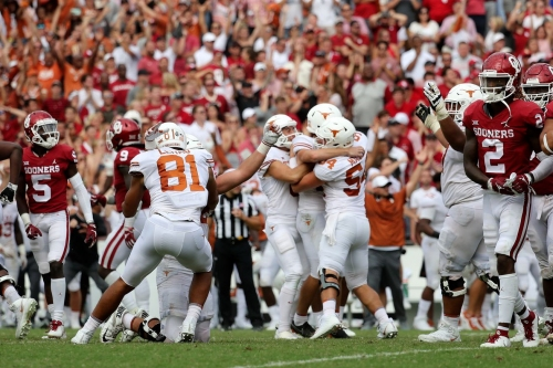 Is Texas back? For the coaches and players, that's irrelevant