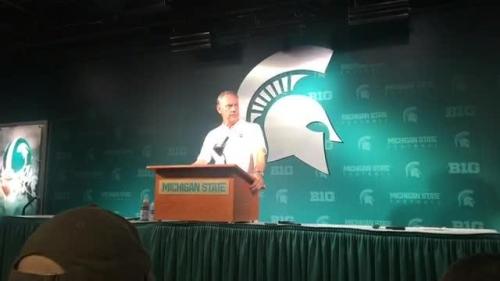 Michigan State's Mark Dantonio: Too many mishaps on offense