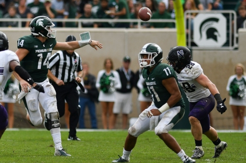 Couch: Making sense of Dave Warner and Michigan State's offense after loss to Northwestern