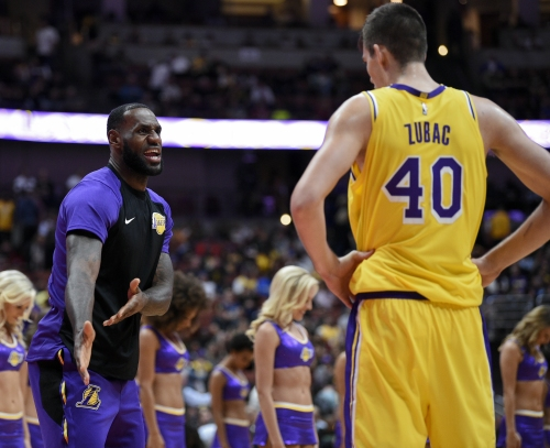LeBron James, Lonzo Ball take the night off; could return together Wednesday