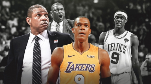 Clippers' coach Doc Rivers reacts to former Celtics guard Rajon Rondo joining Lakers