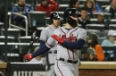 Ender Inciarte hitting second for Braves in Game 3