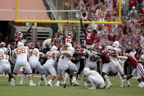 Five plays that changed the game in Texas' 48-45 Red River Showdown win over Oklahoma