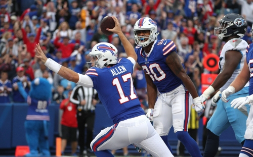 Josh Allen, Buffalo Bills pass their moment of truth by keeping it simple