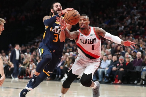 Blazers' Lead Thwarted By Jazz's Rally In Fourth Quarter