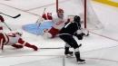 Kovalchuk fights off Red Wings to set up Kopitar back-hander