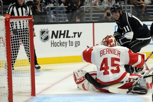 Red Wings Bow Down to Kings 4-2