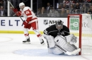 Jack Campbell comes through as Kings defeat Red Wings