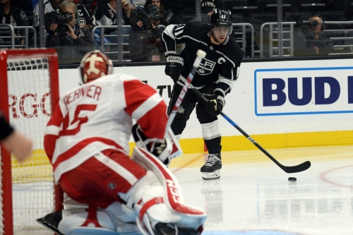 Key Play Breakdown: Trying to do too much covers too little for Dylan Larkin in Red Wings loss to Kings