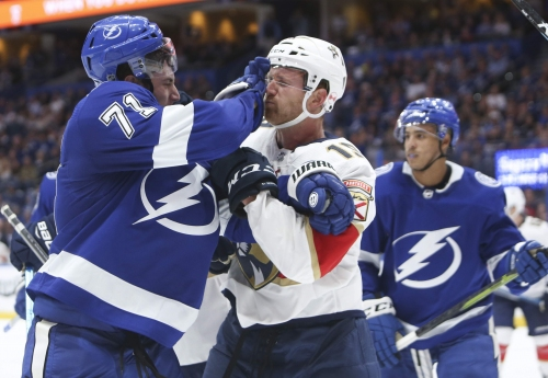 Sports Day Tampa Bay podcast: Lightning comes from behind to beat Panthers