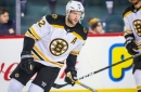 Who's playing for the Bruins in the home opener vs. Ottawa?